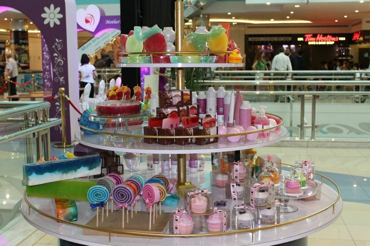 Hearts, cupcakes and lollipops This booth should make you stop again and re examine these goodies who are actually SOAPS