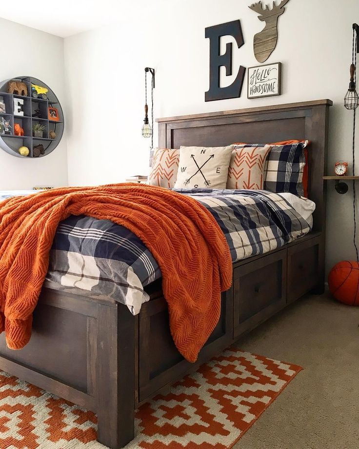 5 Decorating Ideas For Bedrooms: 42 Sophisticated Boys Room Ideas That'll Win All The Cool