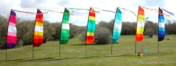 Complete for Sale Home Decoration Flying Pole Garden Flag