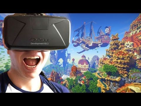 Minecraft VR Gameplay - TNT Launcher, Roller Coaster & More! (Minecraft Oculus Rift Edition) - Best sound on Amazon: http://www.amazon.com/dp/B015MQEF2K -  http://gaming.tronnixx.com/uncategorized/minecraft-vr-gameplay-tnt-launcher-roller-coaster-more-minecraft-oculus-rift-edition/