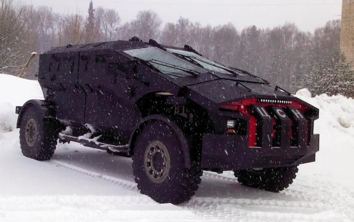 New Russian Armored Vehicle