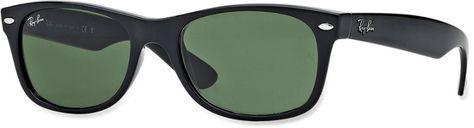 Ray-Ban New Wayfarer Classic Sunglasses - Crystal Green Black Crystal Green