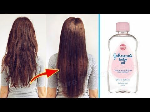 How To Grow Long And Thicken Hair Faster With Baby Oil Super Fast Hair Growth Fab Fast Super Fast Hair Growth Hair Growth Challenge Hair Growth Faster