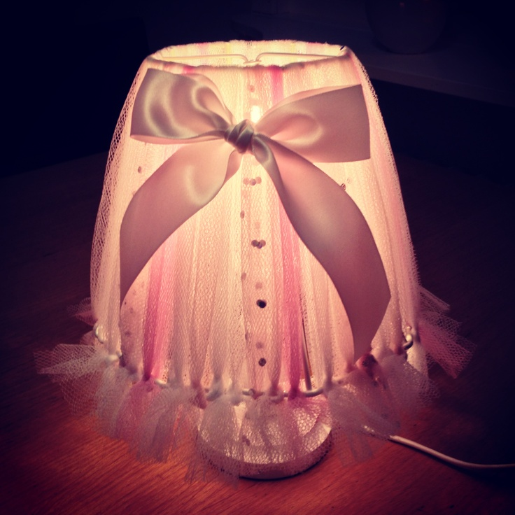Tulle lamp