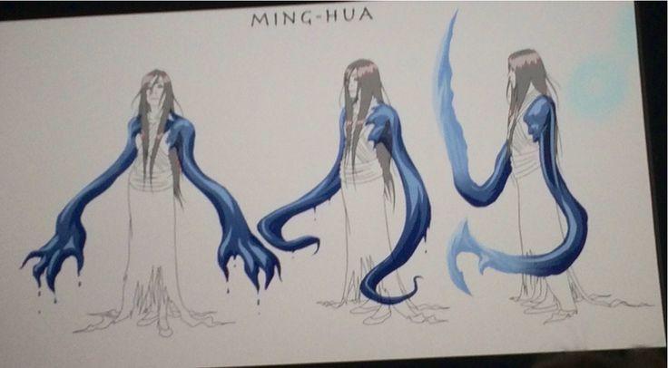Legend of Korra: Ming-Hua concept art