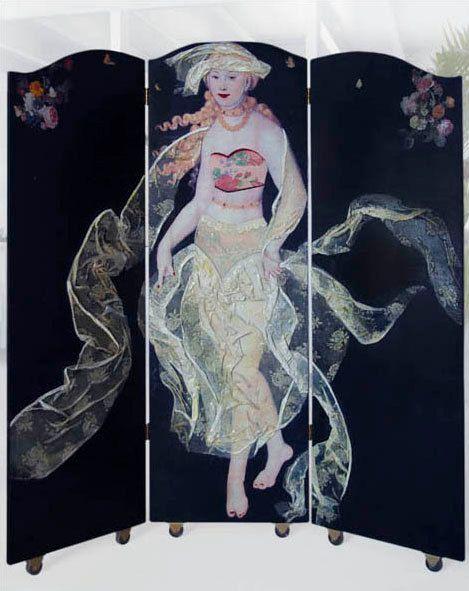 Kamerscherm Gout Citrine serie Dempoiselles door MargrietThissen