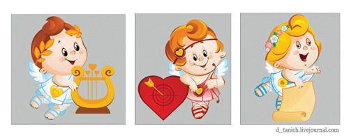 Просмотреть иллюстрацию валентинки из сообщества русскоязычных художников автора Долгая Татьяна в стилях: Анимационный, нарисованная техниками: Векторная графика.