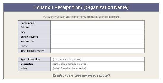 Toy Donation Application : Best receipt template ideas on pinterest invoice