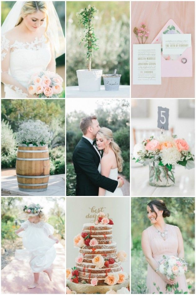266 best wedding inspiration images on pinterest wedding blog romantic super chic blush pink wedding in arizona junglespirit Choice Image
