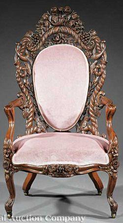 Victorian Rococo Furniture Furniture New York Furniture A Rare