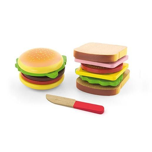 Viga - Hamburger and Sandwich Reminds me of something I loved playing with when young #EntopyWishList #PinToWin