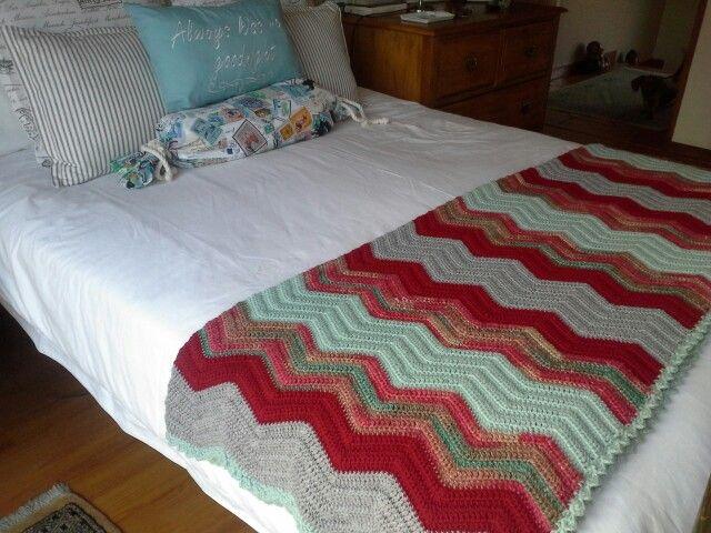 Chevron blanket for Priscilla