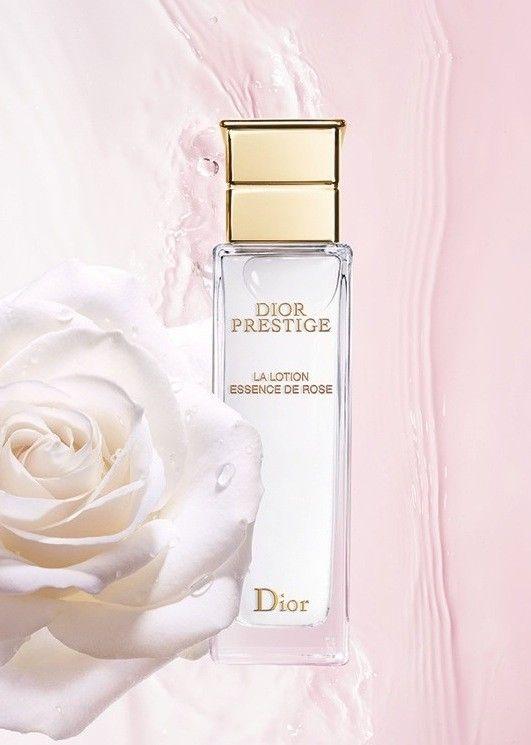 Still life photographer Candice Milon Dior Lotion Prestige - Skincare essence de rose  #lotion #rose
