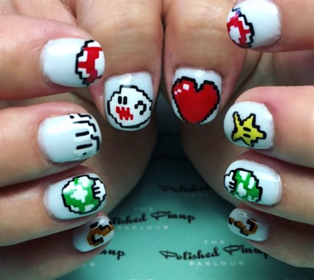 17 Best Ideas About Crystal Nails On Pinterest