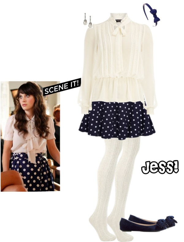 """""""Jess from New Girl"""" by erinlindsay83 on Polyvore"""