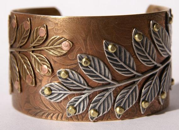 Brass Etched Cuff BraceletCuffs Bracelets, Handmade Cuffs, Etching Cuff Bracelets, Etchings Cuffs