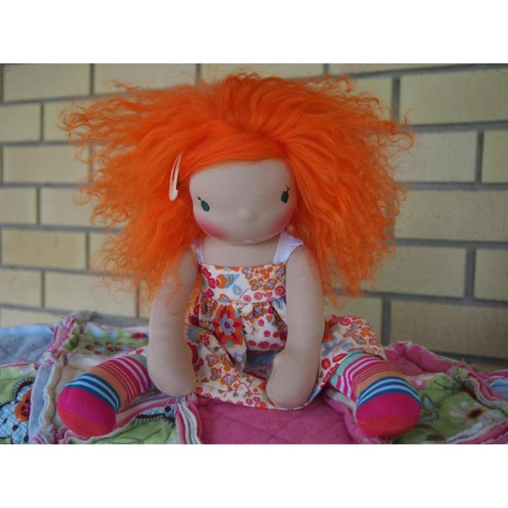 $200.00 Pooki Angel Plum by Pookidolls on Handmade Australia