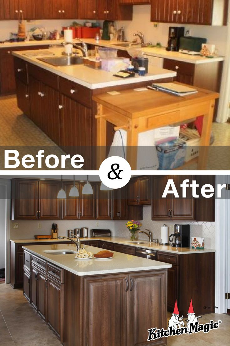 Gabinetes de cocina refacing tampa - This Kitchen Went From Dated To Up Dated In Just A Matter Of Days See More Magical Cabinet Refacing Kitchen Transformations In Our Gallery