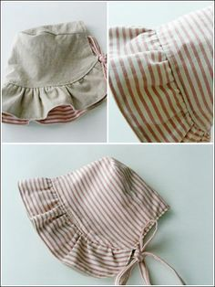 Baby Bonnet from www.e-patternscen... skill level beginner ***R***