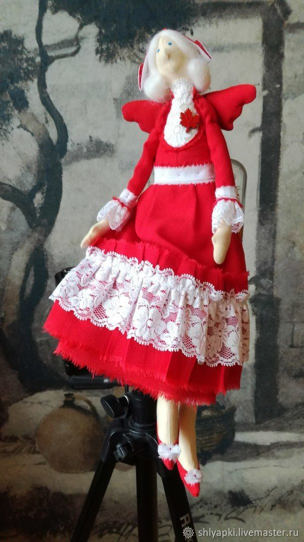"""Купить Кукла Тильда """"Феечка"""" канадская мисс в интернет магазине на Ярмарке Мастеров"""