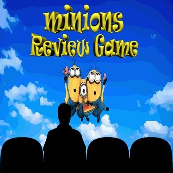 Game Show Games are not the only way to Review...This easy-to-use Minion PowerPoint game template is fun and entertaining. It's a great way to review before quizzes or exams.You can edit the content to review any subject.The template includes teacher's notes and instructions for setup, game-play and how to use HR's unique scoreboard.This template includes 77 slides with audio and animations.Don't forget to press the preview button for your free demo.Requires Microsoft PowerPoint 2007 or…