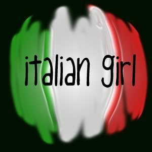 Italian girls do everything better!  For my Beautiful Daughter in Law!