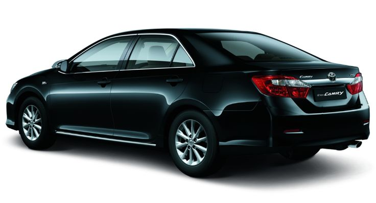 Toyota All New Camry type G - side view - The Future Sedan - Auto2000