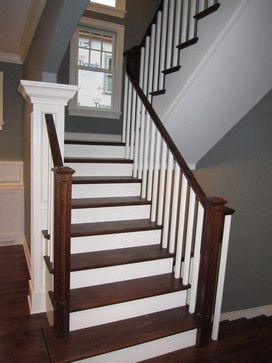 +switchback +Staircases Design Ideas, Pictures, Remodel, And Decor   Page 6