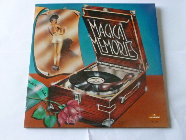 Vintage Records Magical Memories Various Artists Vinyl Record Etsy Vinyl Records Magical Memories Mercury Records