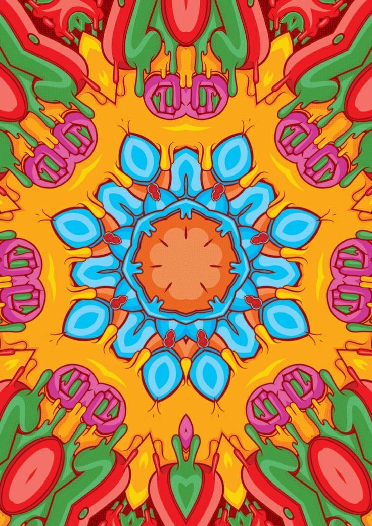 Donutboy Worldwide. Kaleidoscope series.