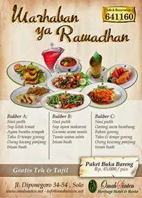 qinkqonk's Portfolio: Ramadhan Package