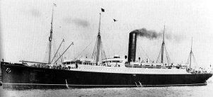 Name:RMS Carpathia  Owner:Cunard line  Route:Transatlantic: Liverpool–Queenstown–Boston  Transferred to Liverpool–Queenstown–New York summers  Trieste–Fiume–New York winters  Builder:Swan Hunter & Wigham Richardson  Laid down:10 September 1901  Launched:6 August 1902  Maiden voyage:5 May 1903  In service:1903-1918  Fate:Torpedoed off east coast of Ireland by German submarine U 55, 17 July 1918. First ship on the scene after Titanic sank.  Brought Titanic survivors to New York.