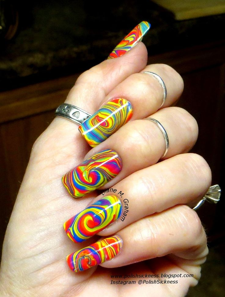 17 best images about marble lous nail art on pinterest nail art marbles and water marbling - Diva nails and beauty ...