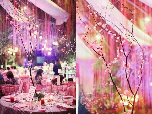 Love Under The Cherry Blossom Trees: A Wedding From Daniel Lei Studio  Styling: Tipping Point Collective