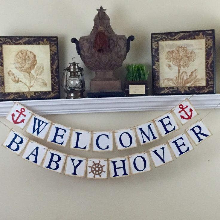 Best 25 welcome baby banner ideas on pinterest welcome for Welcome home new baby decorations