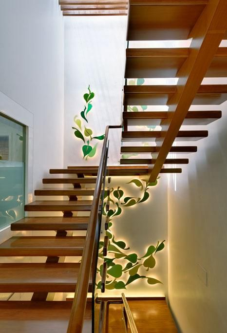 House interior design pictures kerala stairs