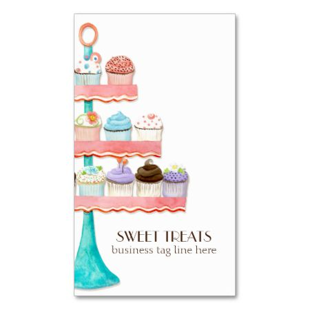 40 best baking themed business cards images on pinterest bakery cupcake dessert baking bakery business package business card template reheart Image collections