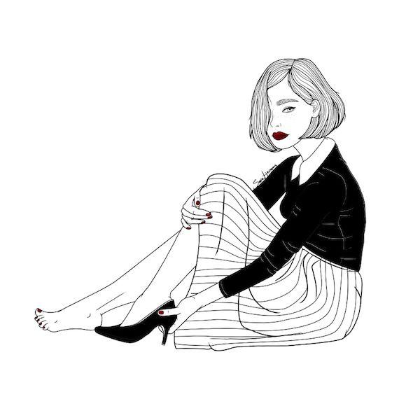 Resultado de imagen para mujer ilustración