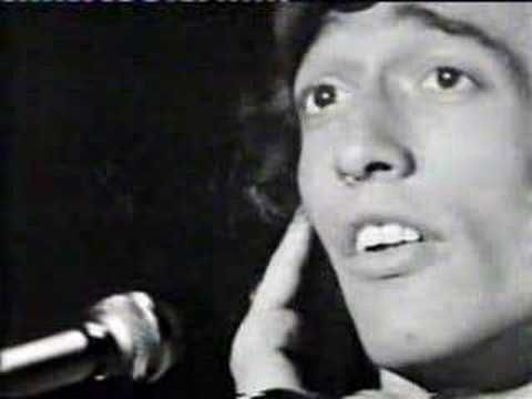 Bee Gees - I Started a Joke, with the beautiful voice of Robin Gibb in the lead.