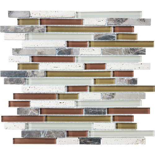 possible glass tile backsplash for our kitchen - Abnehmbare Backsplash Lowes