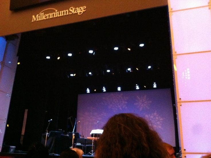 ake in a free performance at the Kennedy Center's Millennium Stage every evening at 6 p.m. Acts include everything from performances by the National Symphony Orchestra to poetry slams. The Kennedy Center offers deep discounts to patrons ages 17-25 through its Attend program.