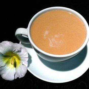 New Orleans Cafe Au Lait...special blend of coffee and milk, french coffee, only found in Louisiana...NO, Starbucks does not have its own version of it