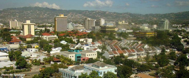 Kingston, Jamaica - 701,063 population.