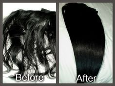 How to restore your old hair extentions