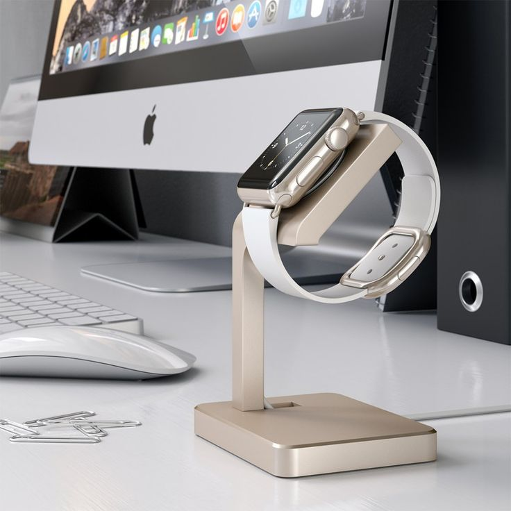 The new Satechi Watch Stand for Apple Watch - charge, dock and showcase your Apple Watch at the same time! 🕤 Available in silver, space grey, gold and rose gold.   #lifestylestore #satechi #interiordesign #applewatch #accessories #aluminium #stand https://goo.gl/YcT8bm