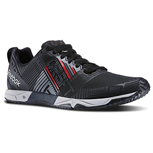 Reebok Mens CrossFit Sprint Athletic Shoes The Sprint just got sleeker!  This WOD-friendly trainer puts speed on your side thanks to its  close-fitting frame,