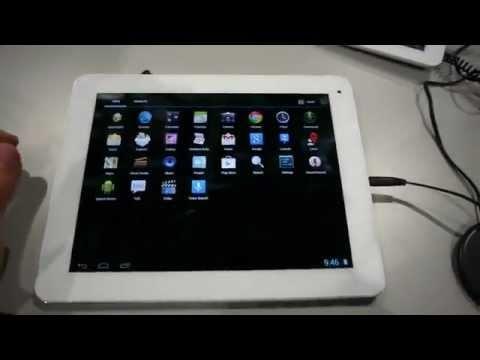 Archos 97b Titanium HD Tablet Hands On [CES 2013]
