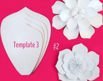 Pared de papel flor gota y/o cabina de la foto por PaperPoshEvents1