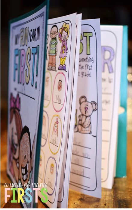 fun and simple end of the year memory books!!!