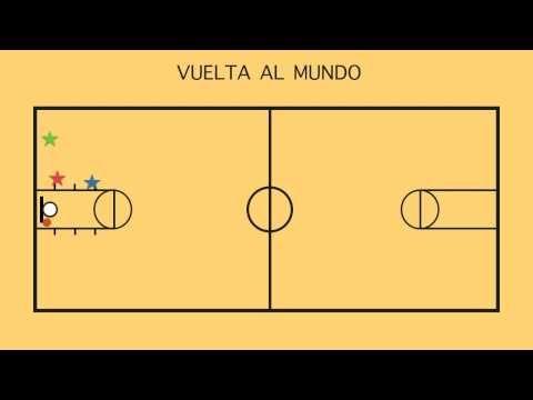 VUELTA AL MUNDO - Juegos Educación Física